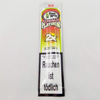 Platinum - Blunt Wraps Red