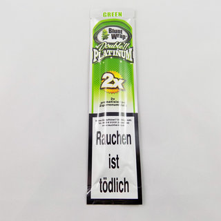 Platinum - Blunt Wraps Green