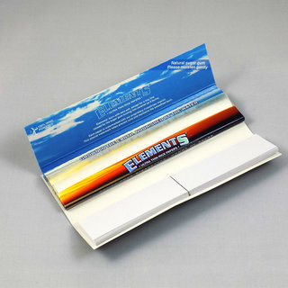 Elements - King Size Slim Papers + Tips
