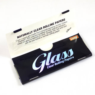 Glass - King Size Clear Papers
