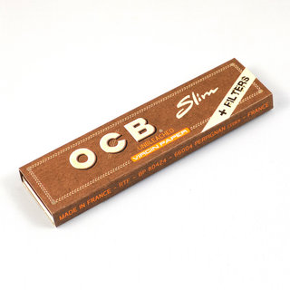 OCB - Virgin Slim Papers + Tips