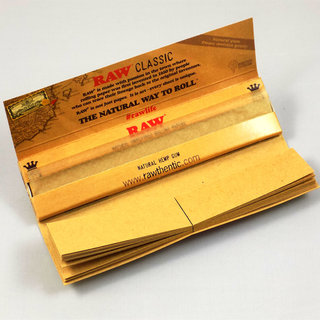 RAW - Classic Slim Papers + Tips