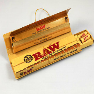 RAW - Classic Slim Papers + Pre Rolled Tips