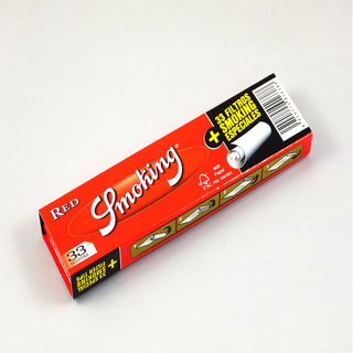 Smoking - Red King Size Papers + Tips
