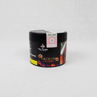 True Passion Tobacco 200g - Okolom Cranbrry